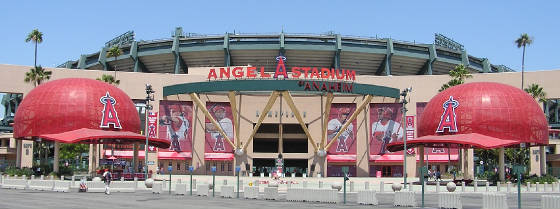 Angels Stadium of Anaheim - Anaheim, Ca
